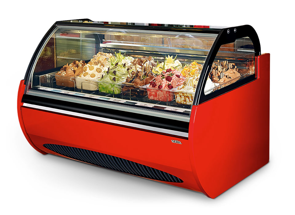 commercial gelato machine
