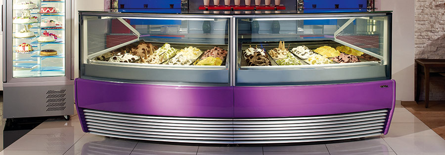 Why Having the Right Gelato Display Freezer is Important When Selling Gelato